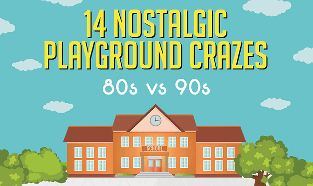 14 Nostalgic Playground Crazes - 80s vs 90s