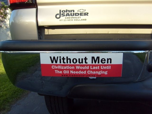 Great bumper sticker john sauder best car sticker