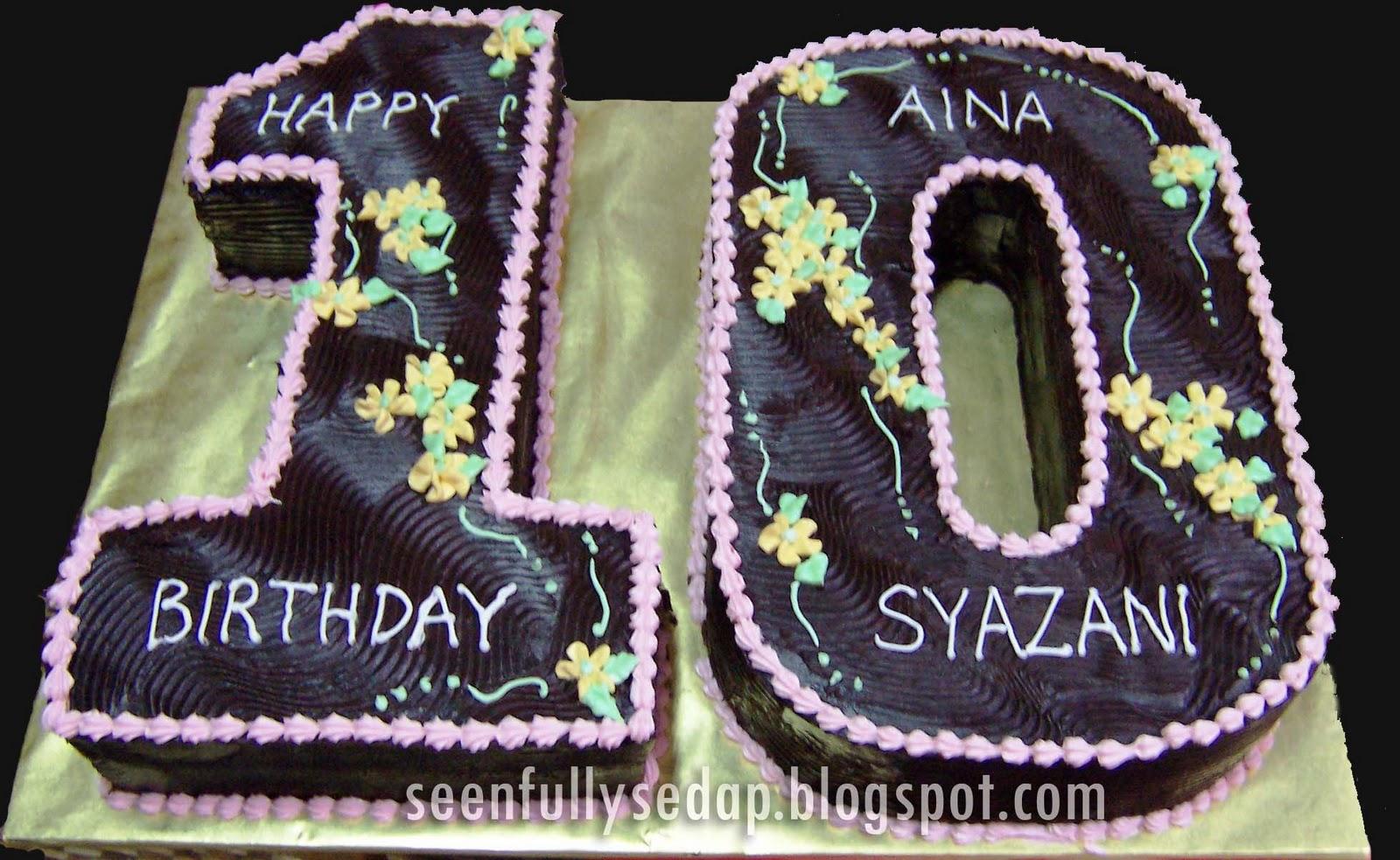 Seenfully Sedap Birthday Cake