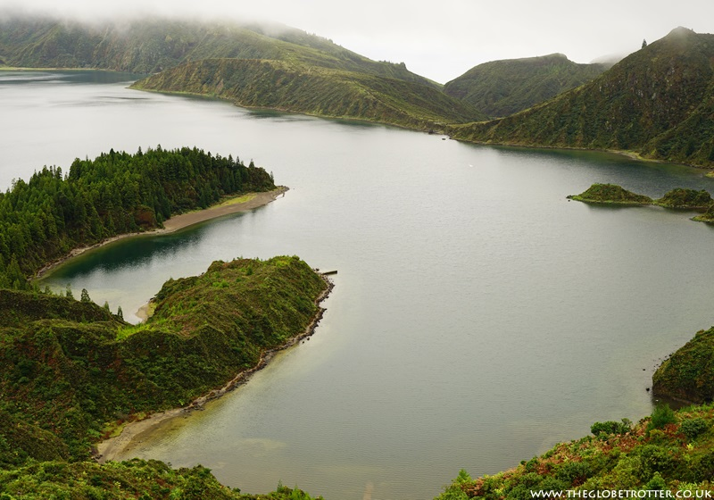 Sao Miguel in The Azores