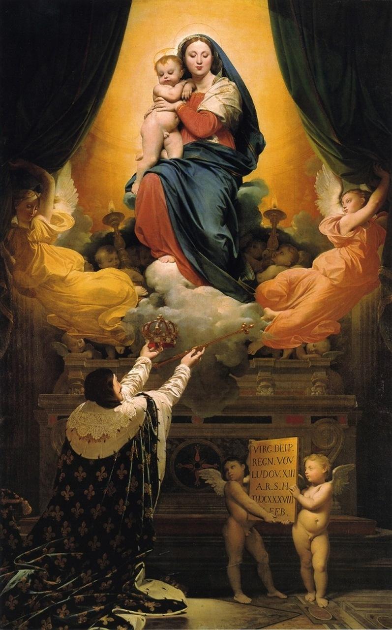 Del Voto Ed Di Ecclesia MaterL'assunzione Il Re Scuola Maria c354jRALq