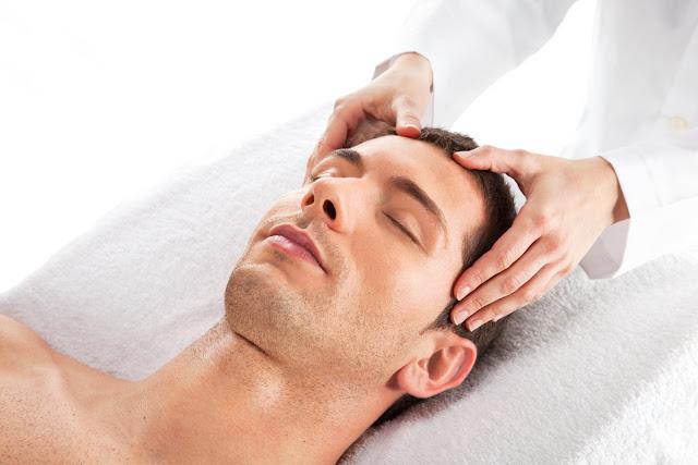 pijat kepala ( head massage)