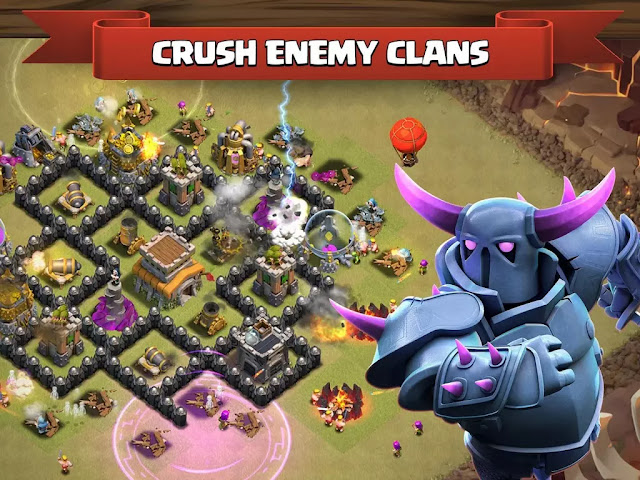 Clash of Clans Mod/Hack Apk v7.200.19[v 0.4] Latest Version For Android