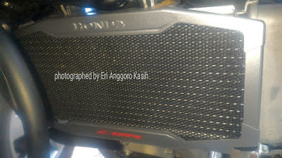Radiator cover Honda CB150R.