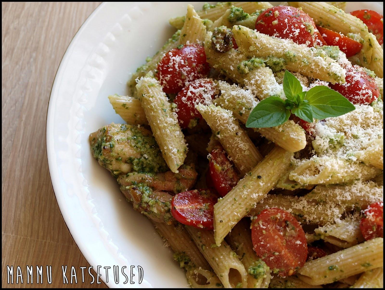 Pesto Kana Pasta