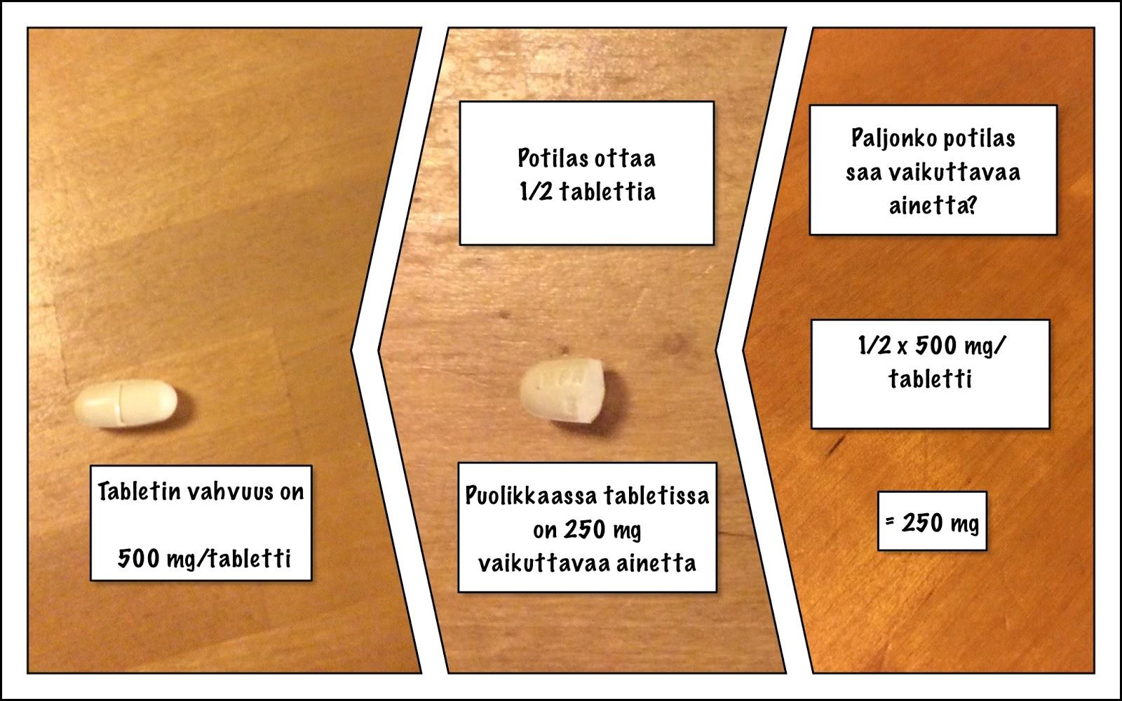 Kuinka monta milligrammaa on yksi mikrogramma