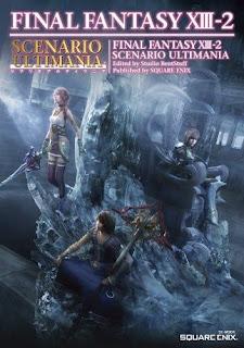 Final Fantasy XIII-2 Battle Ultimania and Scenario Ultimania Guide Covers