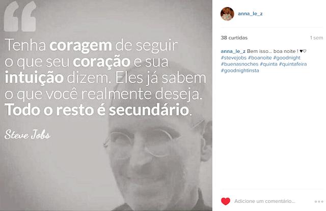 Texto Quote Steve Jobs