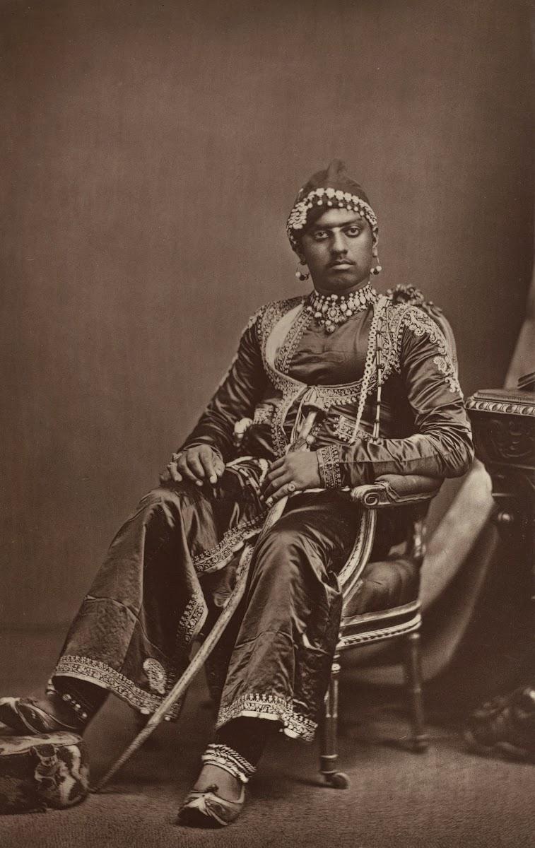 Maharana Sajjan Singh of Udaipur - 1877