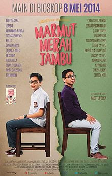 Poster Film Marmut Merah Jambu
