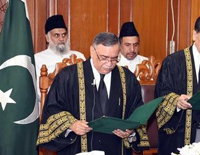 Pakistan's Poetic Justice Takes Oath