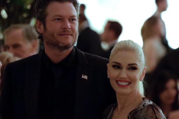 Gwen Stefani se presenta en cena en la casa blanca y lleva a Blake Shelton
