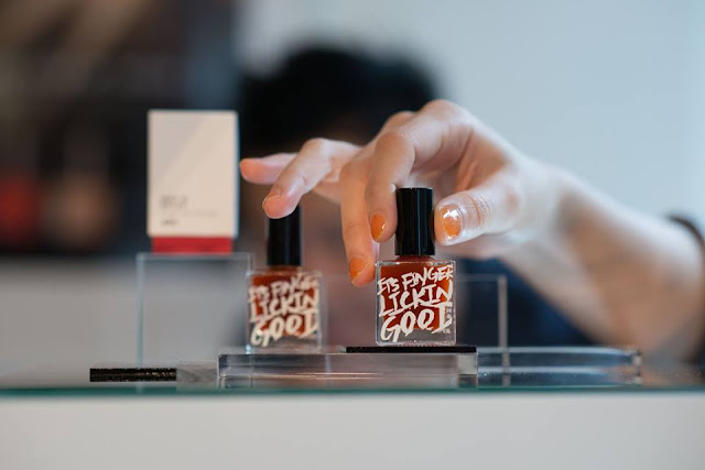 KFC, curiosity, edible nail polishes, fried chicken nail polish, fried chicken taste, Original, Hot & Spicy, creative marketing, creativity, weird beauty products, Hong Kong
