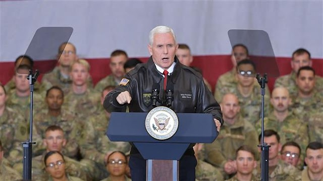 US Vice President Mike Pence makes unannounced visit to Afghanistan