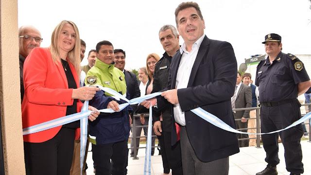 Ritondo inauguró un Centro de Control de la Policía de Seguridad Vial en Baradero
