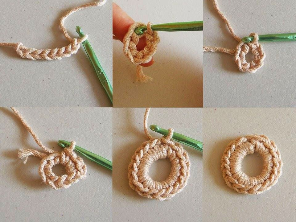 Tutorial cadena al crochet para bisuteria
