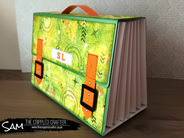 Filofax insert storage by Sam Lewis AKA The Crippled Crafter