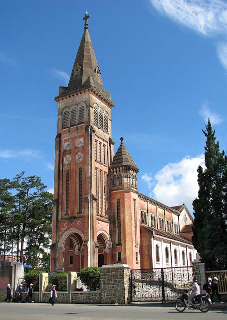 Catedral de Da Lat en Vietnam