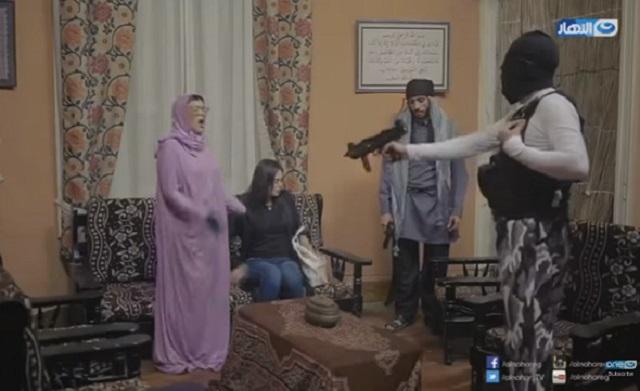 Aktres Mesir Jadi Mangsa Guraun Kasar Program TV Dengan Isu Pengganas