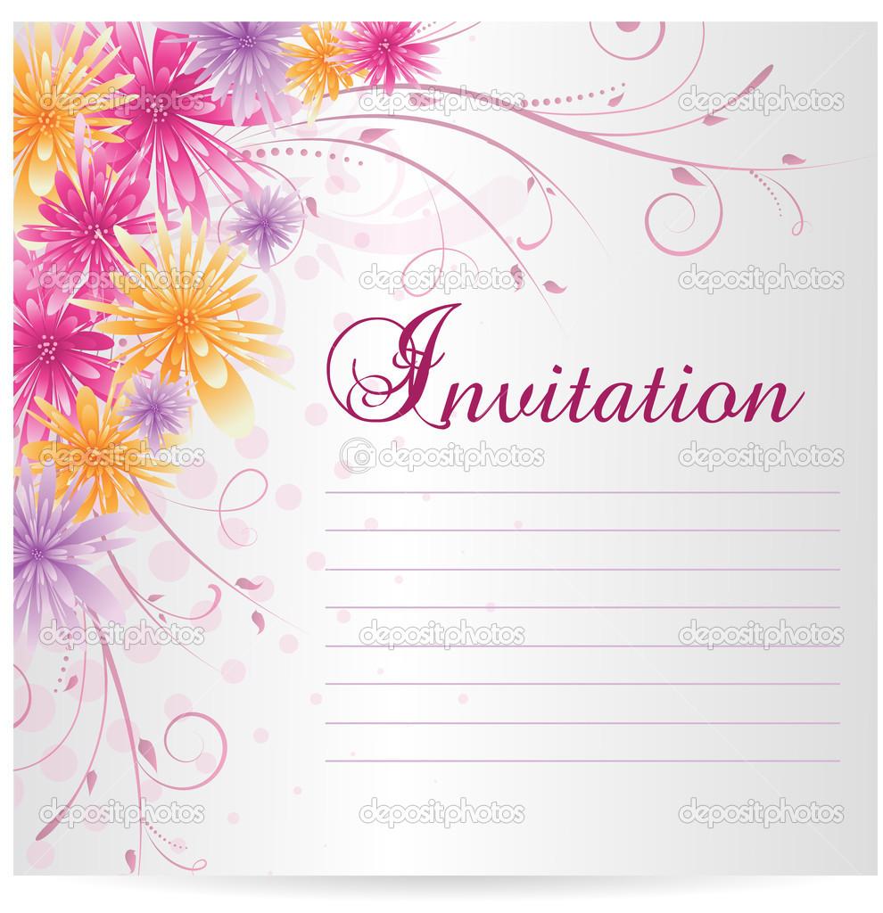 Email Invitation Template Plain: CardIT