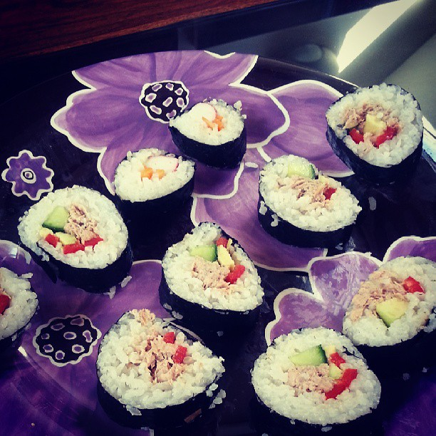 yummy home made sushi