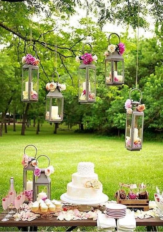 green wedding ideas wedding lamps and wedding cakes