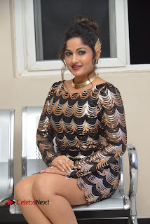 Actress Madhavi Latha Pictures in Short Dress at On Mona Birthday Premiere 0042