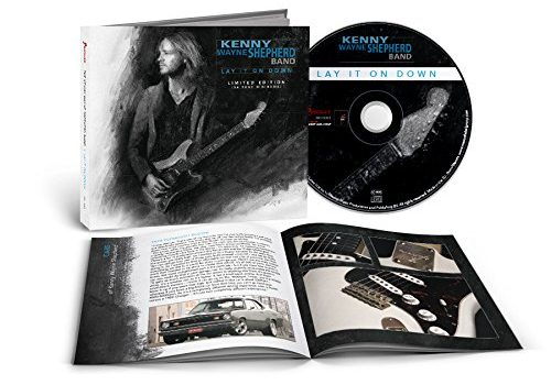 KENNY WAYNE SHEPHERD - Lay It On Down [Cars & Guitars Edition] (2017) booklet