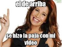 """""""Florencia Peña"""" el de arriba se hizo la paja con mi video"""