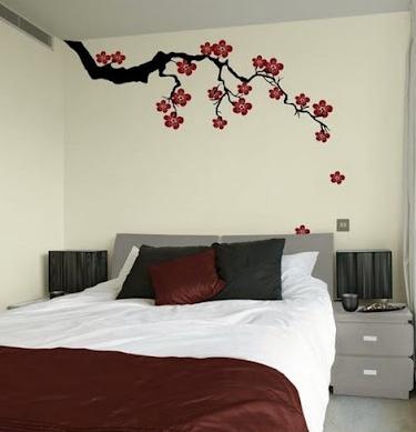 #10 desain hiasan dinding kamar tidur simpel menarik