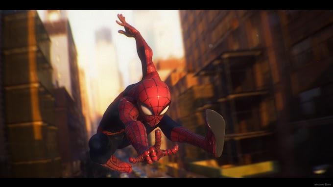 Fã cria arte do Homem-Aranha no padrão Pixar