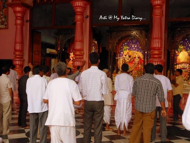 ISKCON Temple Aarti, Hyderabad Abids, Andra Pradesh