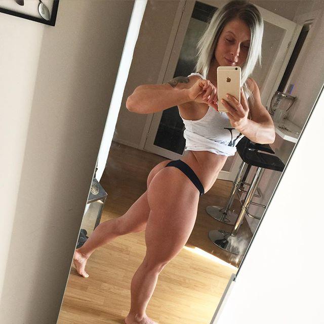 Fitness girl Caroline Aspenskog