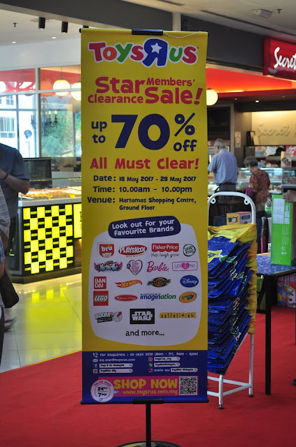 Toys R Us Malaysia Star Member's Clearance Sale