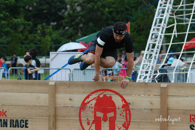The twenty-four hr current that all Spartans were waiting for had in conclusion arrived SingaporeTourismMap: Reebok Singapore Spartan Race 2015 |