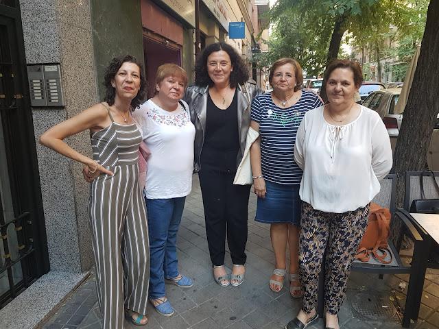 Blog Negro sobre Blanco. Encuentro con Neus Arques. María Loreto Navarro