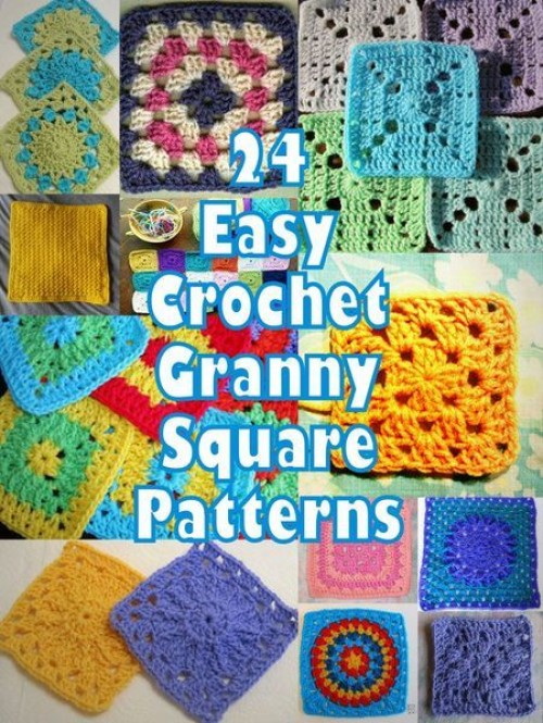 Easy Crochet Granny Square Patterns