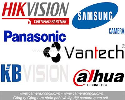 Một số thương hiệu camera quan sát uy tín tại thị trường Hải Phòng do Cộng Lực cung cấp và lắp đặt.