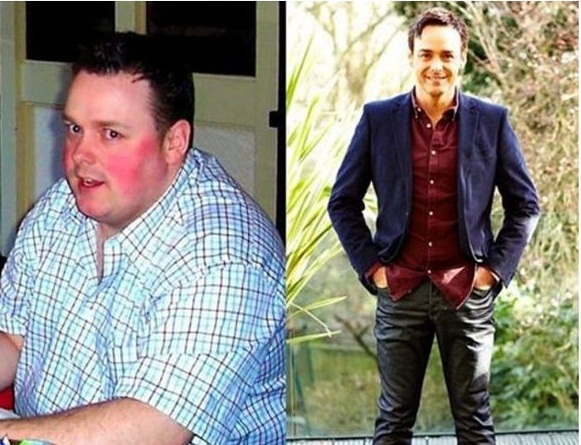He Weighed 330 lbs. and Was Too Ashamed to Leave the House . Today, he turns heads