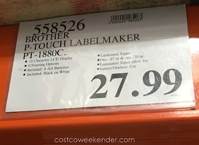 Deal for the Brother P-touch PT-1880c Labelmaker at Costco