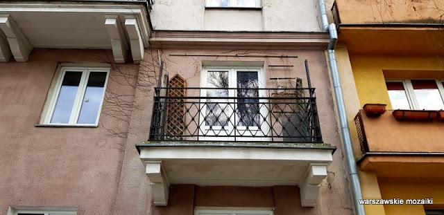 Warszawa Warsaw Wola architektura Towarzystwo Przyjaciół Dzieci kamienica balkon