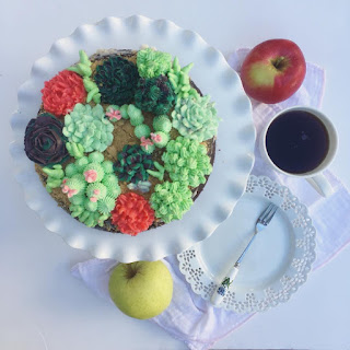 succulent-buttercream-cake