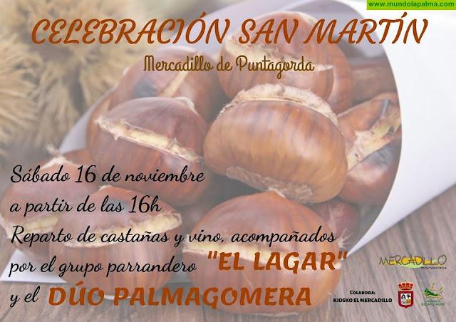 San Martín en el Mercadillo Puntagorda