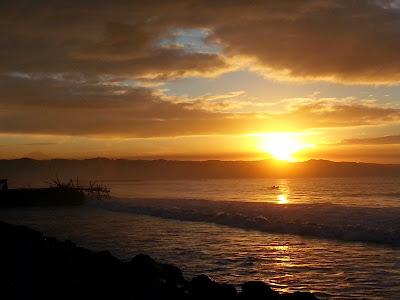 Sunrise Pantai Barat Pangandaran 2 :)