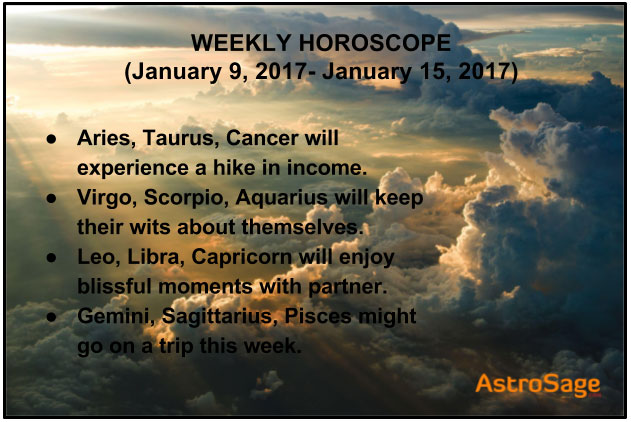 taurus january 9 weekly horoscope