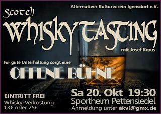 Whisky-Tasting Igensdorf 2018