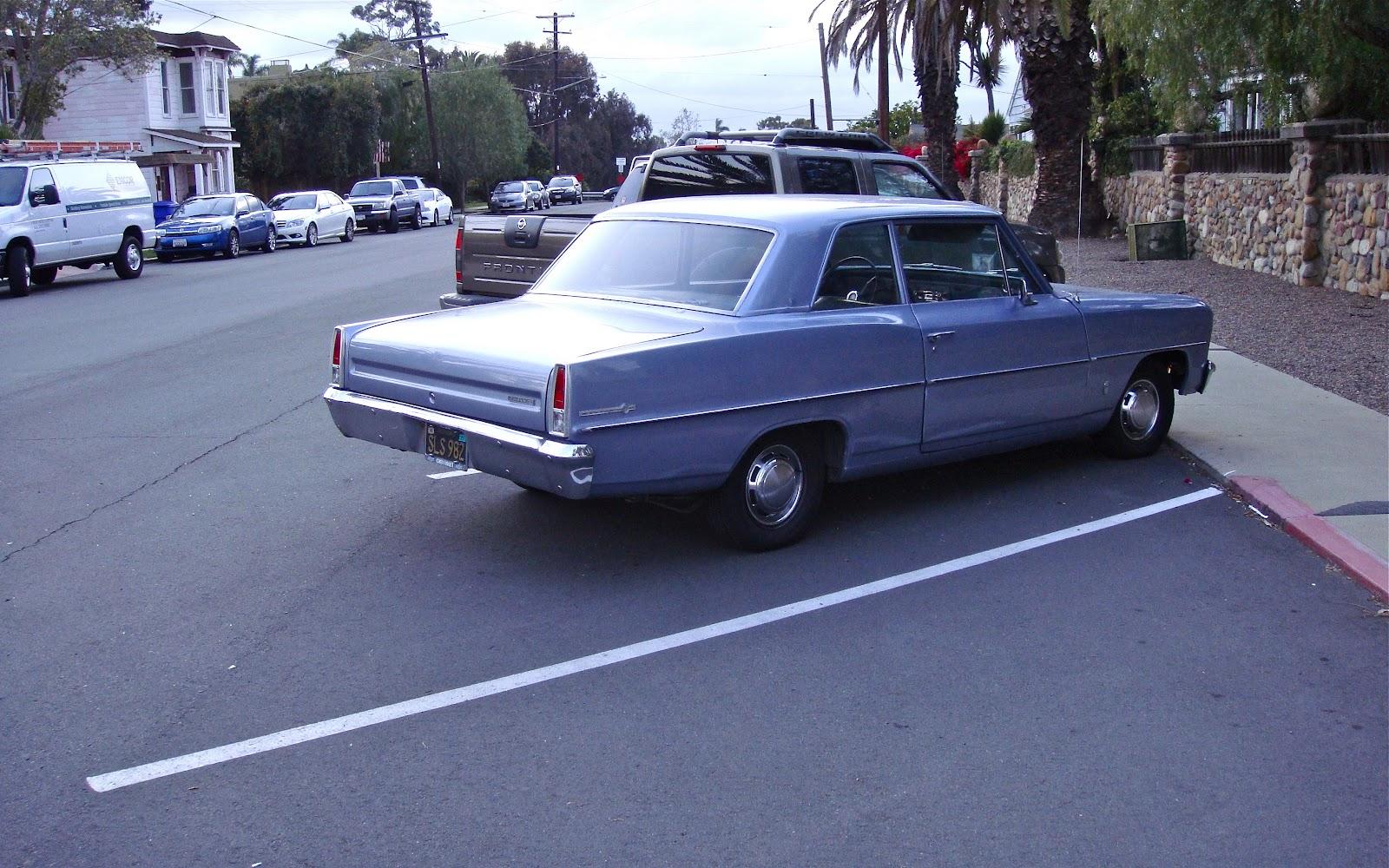 THE STREET PEEP: 1966 Chevrolet Chevy II Nova 2-Door