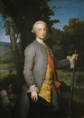 Charles IV as Prince of Asturias by Anton Raphael Mengs, 1765