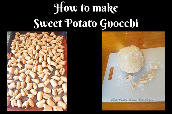 step by step instructions on how to make sweet potato gnocchi easy recipe