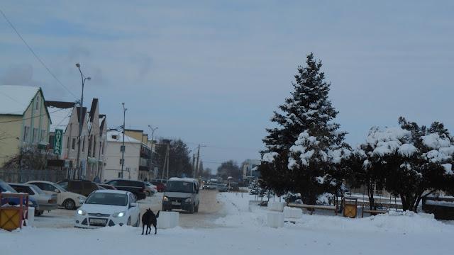 улица у автовокзала